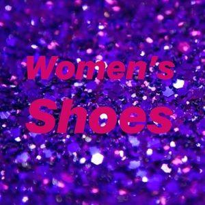 Women's high heels, sneakers, sandals
